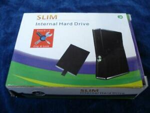 SLIM INTERNAL HARD DRIVE FOR XBOX 360 320GB NEW IN PLASTIC ENCLOSURE CASE