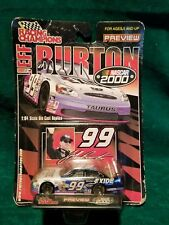 NEW 2000 NASCAR RULES  JEFF BURTON #99 EXIDE 1:64 RACING CHAMPIONS