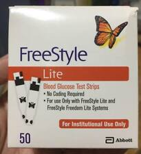 Freestyle Lite Blood Glucose Monitoring System/blood glucose test strips/lancets