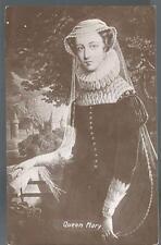 Queen Mary England UK Postcard Postcard Valentine's X L Series