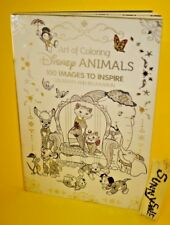 Art of Coloring: Disney Animals: 100 Images to Inspire Creativity (Hardcover)