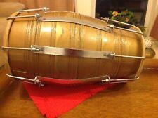 More details for indian dhol//dholak/dholki  double ended. bolt tuned ceremonial festive