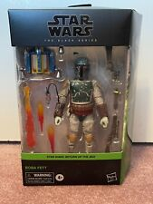 Star Wars The Black Series Boba Fett - 6 Inch Deluxe - Return Of The Jedi