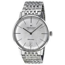 Hamilton Men's 38mm Automatic Silver Steel Bracelet & Case Date Watch H38455151