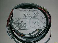 IMPIANTO ELETTRICO ELECTRICAL WIRING APE AC1 AVVIAMENTO A MANO+ SCHEMA ELETTRICO