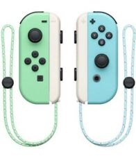 Nintendo Switch Animal Crossing Joy-Con Controllers Pair Set With Straps