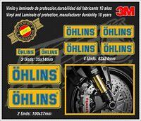 Decal Set Ohlins ,stickers-pegatinas-aufkleber-autocollants-adesivi,