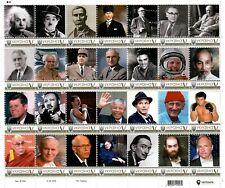 Ukraine 2019, Great Men of 20th Century, sheet of 28v