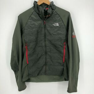 The North Face Jacket Men's M Green Full Zip Summit Series Logo Outerwear