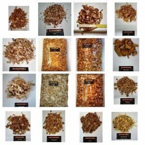 Wood Chips bzw Räucherchips für ihr BBQ  Eiche, Buche, Pflaume, Erle