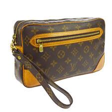 LOUIS VUITTON MARLY DRAGONNE CLUCTH HAND BAG PURSE MONOGRAM ag M51825 A50381