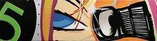"CRASH JOHN MATOS ""WHEELS OF STEEL"" | ORIGINAL SPRAY PAINT/CANVAS | LARGE 22X100"""