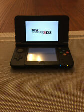 New Nintendo 3DS Super Mario Black Edition System with Charger and Case