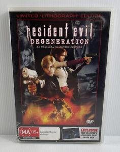 Resident Evil - Degeneration (DVD, 2009), flawless disc, R4, horror / animated