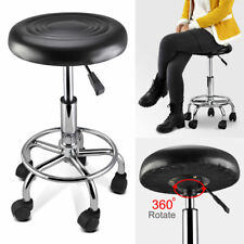 PU Leather Bar stool Barstool Kitchen Chair Black Anton 7009 Swivel Gas Lift