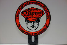 "OILZUM ""LOLIPOP"" LICENSE PLATE TOPPER DISPLAY 5"" H by 4"" W"