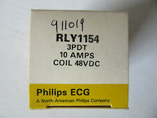 ECG Component Philips Relay RLY1154 Relay 3PDT 10A @ 240VAC, Coil 48VDC NEW!!!