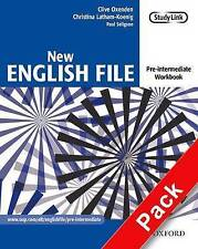 New English File: Pre-intermediate: Workbook with key and MultiROM Pack: Six-level general English course for adults by Paul Seligson, Christina Latham-Koenig, Clive Oxenden (Mixed media product, 2005)