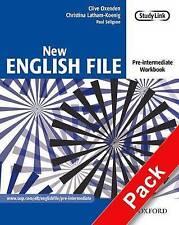 Oxford NEW ENGLISH FILE Pre-Intermediate Workbook with Key & MultiROM @New@
