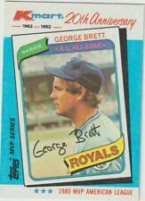 1982 Topps K-Mart #38 George Brett card, Kansas City Royals HOF
