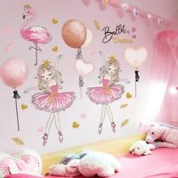 Wall Stickers DIY Flamingo Animal Wall Decals for Kids Rooms Baby Bedroom House