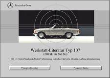 WIS Reparaturanleitung für Mercedes Benz W107 alle Modelle sofort als Download