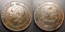 Napoléon III - 10 centimes tête laurée - 1861 A, Paris - F.134/2