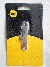 chrome hosue door number 1 made by yale  free p&p to uk