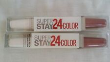 2 MAYBELLINE 24 HR COLOR SUPER STAY LIPSTICK #131 SIENNA EVER AFTER NEW