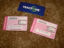 2 Standard Nano or Micro Sim Cards For use with T-Mobile-Compatible Phones(Byop)