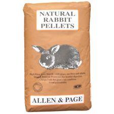 Allen & Page Natural Rabbit Pellets 20kg 4 X 1kg Readigrass Great