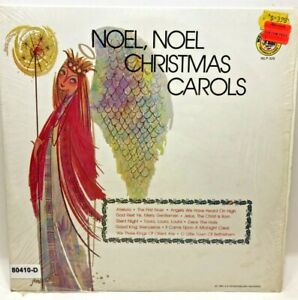 Vintage VINYL RECORD Noel Noel Christmas Carols Classic Songs
