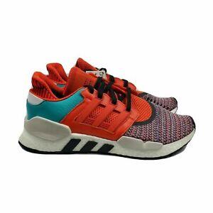 Adidas Originals EQT Equipment Boost Running Shoes 10 Orange Blue D97049 Mens