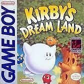 Kirby's Dream Land Original Nintendo Gameboy game 100% Authentic Tested clean