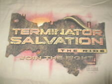 "TERMINATOR SALVATION ""The Ride ... Join the Flight"" ROLLER COASTER (XL) T-Shirt"
