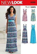 NEW Look Sewing Pattern MISSES'S DRESS 2 lunghezze Corpetto variazione 8 - 20 6280