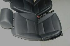 2011 2012 2013 2014 BMW X3 FRONT RIGHT PASSENGER SEAT ASSEMBLY BLACK LEATHERETTE