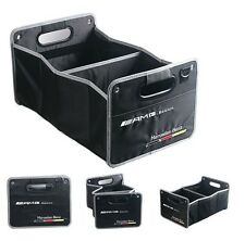Mercedes Benz AMG Edition Boot Trunk Organizer Collapsible Fold Storage Bag Box