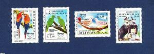 HONDURAS - Scott C1090-C1093  - FVF MNH  - birds - 2001