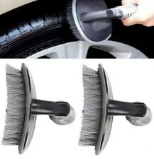 2x Outdoor Car Auto Motorcycle Wheel Tire Rim Hub Cleaning Tool Clean Wash Brush