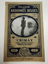 CHIMAY, RANCE SENTIER DE LA FAGNE, DE L'EAU BLANCHE, NOIRE GUIDES COSYN