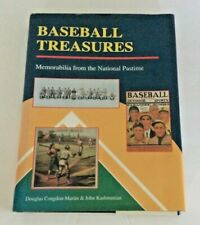 BASEBALL TREASURES - Memorabilia from the National Pastime by Congdon-Martin