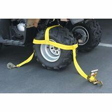 New Over the Wheel Tie Down Bonnet Car Truck Tractor Trailer Haul Strap ATV UTV