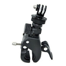 Camera Handlebar Seatpost Clamp Roll Bar Mount+Mounting Adapter for GoProHero LW