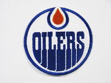 "(1) LOT OF HOCKEY EDMONTON OILERS PATCH  PATCHES (3 1/2"" ROUND) ITEM # 81"