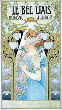 Art Nouveau Ceramic Mural Tiles Backsplash Bath Decor Tile #604
