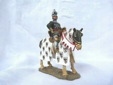 Cavalier Delprado - Bertrand du Guesclin vers 1370 - Figurine du moyen-âge