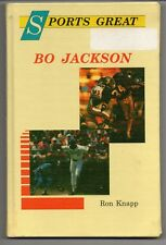 Bo Jackson 1990 Hardcover Book Auburn Tigers Kansas City Royals Oakland Raiders