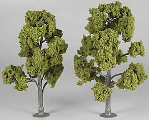 "NEW Woodland Assembled Tree Light Green 7"" Train Scenery N/HO TR1515"