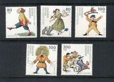 Germany #B762-66  (1994 Childrens Drawings set) VFMNH CV $12.25